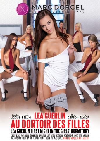 Lea Guerlin First Night In The Girls' Dormitory from Marc Dorcel front cover