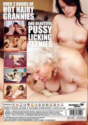 Granny Loving Teens 4 from Mature back cover