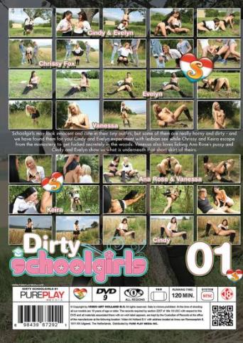 Dirty Schoolgirls from Seventeen back cover