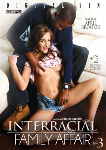 Interracial Family Affair 3 from Digital Sin front cover
