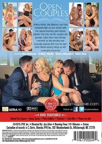 Open Couples from Adam & Eve back cover