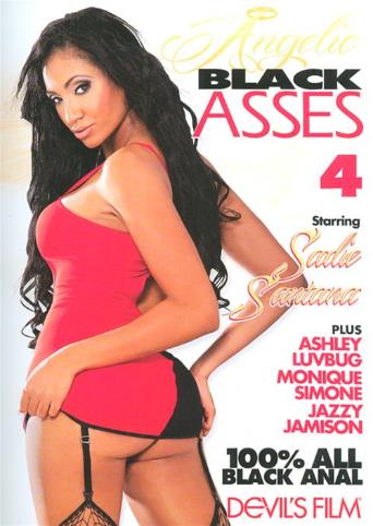 Angelic Black Asses 4 from Devil's Film front cover