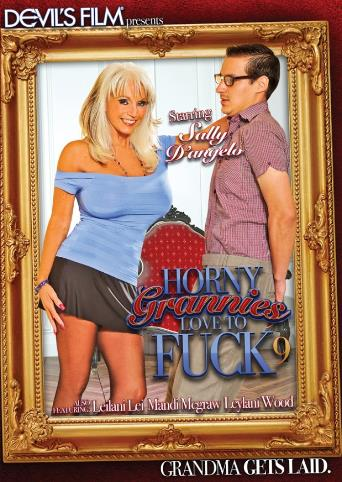 Horny Grannies Love To Fuck 9 from Devil's Film front cover