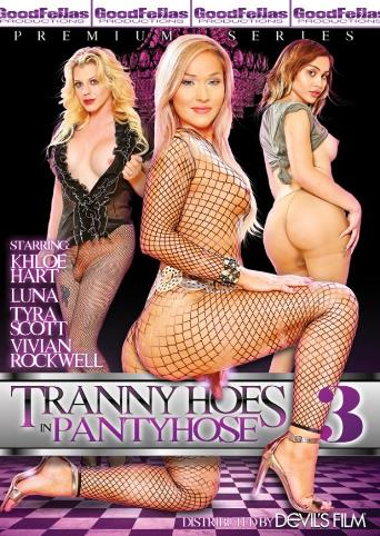 Tranny Hoes In Panty Hose 3 from Devil's Film front cover