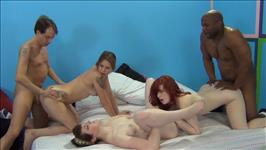 My Wife's 1St Interracial Sex Party