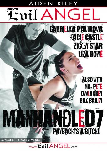 Manhandled 7 from Evil Angel front cover