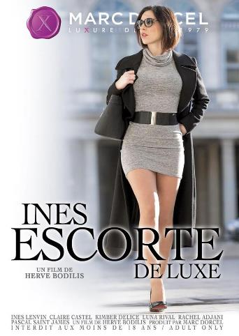 Ines Escort Deluxe from Marc Dorcel front cover