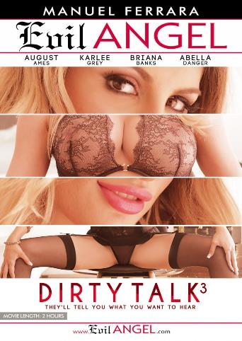 Dirty Talk 3 from Evil Angel: Manuel Ferrara front cover