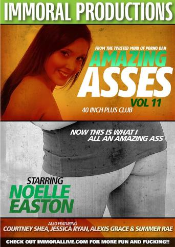 Amazing Asses 11 from Immoral Productions front cover