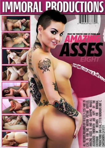 Amazing Asses 8 from Immoral Productions back cover