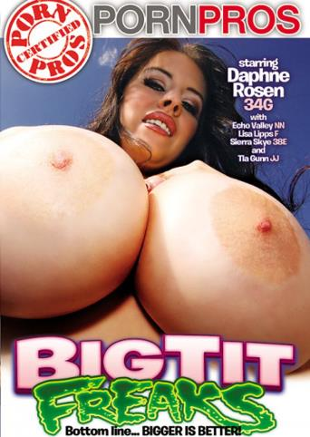 Big Tit Freaks from Porn Pros front cover