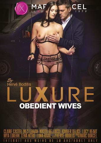 Luxure Obedient Wives from Marc Dorcel front cover