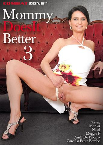 Mommy Does It Better 3 from Combat Zone front cover