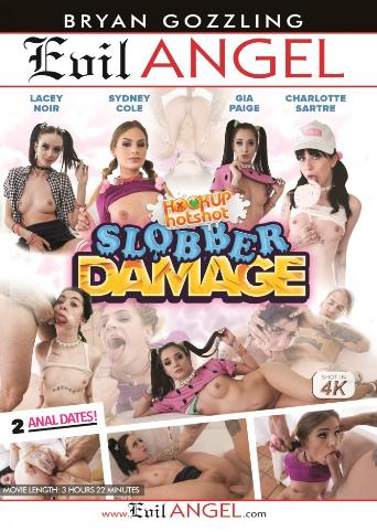 Hookup Hotshot Slobber Damage from Evil Angel front cover
