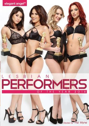 Lesbian Performers Of The Year 2016 from Elegant Angel front cover