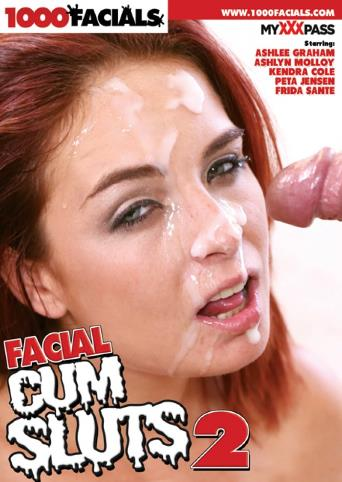 Facial Cum Sluts 2 from 1000 Facials front cover