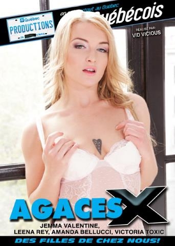 Agaces X from My Quebec Productions front cover