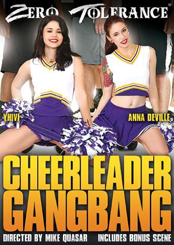 Cheerleader Gangbang from Zero Tolerance front cover