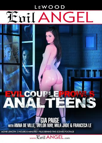 Evil Couple Prowls Anal Teens from Evil Angel front cover