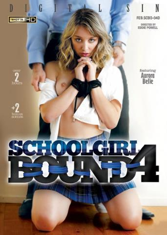 Schoolgirl Bound 4 from Digital Sin front cover