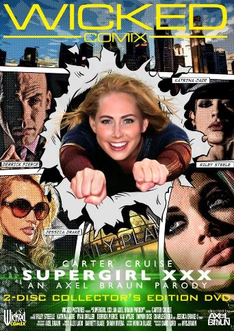 Supergirl XXX An Axel Braun Parody from Wicked front cover