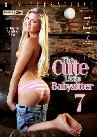 The Cute Little Babysitter 7 from New Sensations front cover