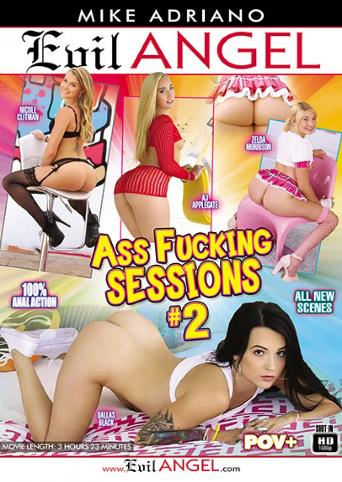 Ass Fucking Sessions 2 from Evil Angel: Mike Adriano front cover