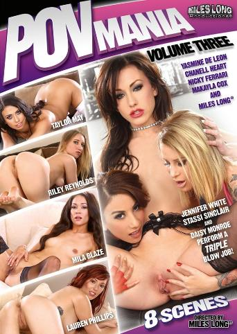 POV Mania 3 from Miles Long Productions front cover