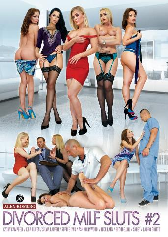 Divorced MILF Sluts 2 from Alex Romero front cover