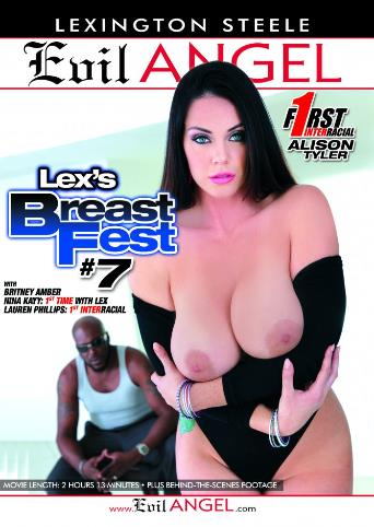 Lex's Breast Fest 7 from Evil Angel front cover