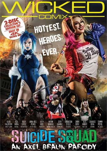 Suicide Squad XXX An Axel Braun Parody from Wicked front cover
