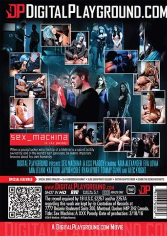 Sex Machina from Digital Playground back cover