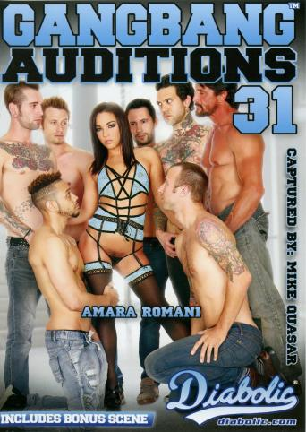 Gangbang Auditions 31 from Diabolic front cover