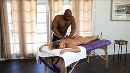 Interracial Massage Scene 2