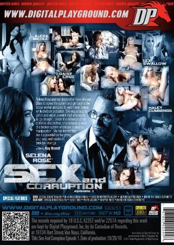 Sex And Corruption from Digital Playground back cover