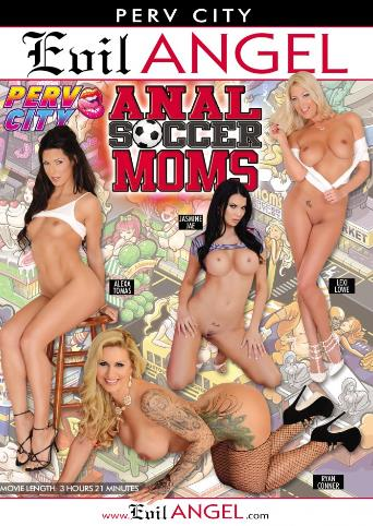 Anal Soccer Moms from Evil Angel front cover
