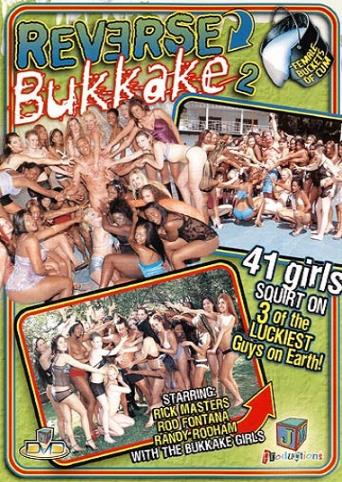 Reverse Bukkake 2 from JM Productions front cover