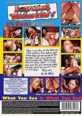 Bootylicious Bitches And Ho's from JM Productions back cover