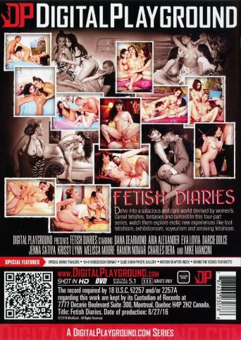 Fetish Diaries from Digital Playground back cover