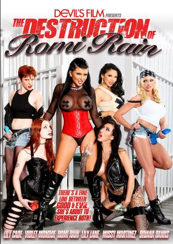 The Destruction Of Romi Rain from Devil's Film front cover