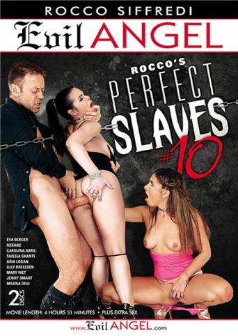 Rocco's Perfect Slaves 10 from Evil Angel: Rocco Siffredi front cover