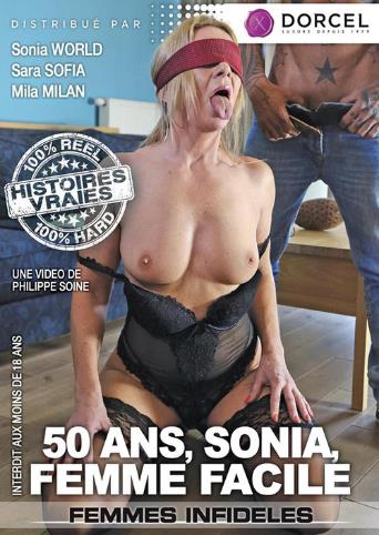 Sonia 50 And Easy As Fuck from Marc Dorcel front cover