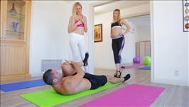 Teen Yoga Scene 1