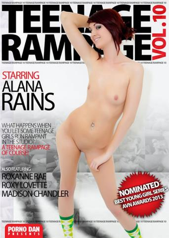 Teenage Rampage 10 from Porno Dan Presents front cover