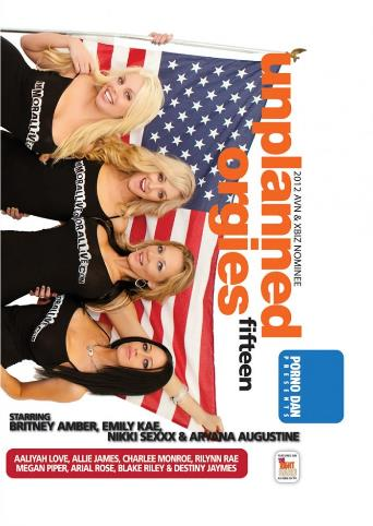 Unplanned Orgies 15 from Porno Dan Presents front cover