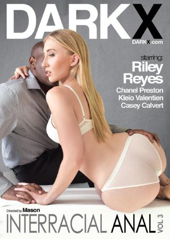 Interracial Anal 3 from Dark X front cover