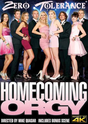Homecoming Orgy from Zero Tolerance front cover