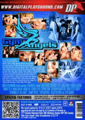 Gym Angels from Digital Playground back cover