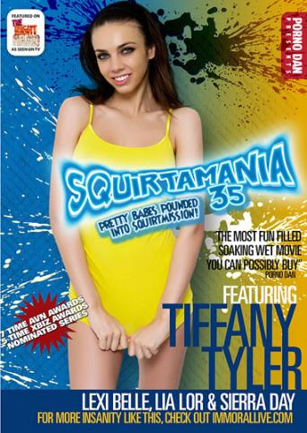 Squirtamania 35 from Porno Dan Presents front cover