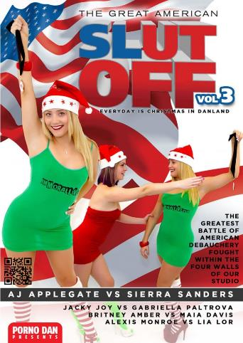 The Great American Slut Off 3 from Porno Dan Presents front cover